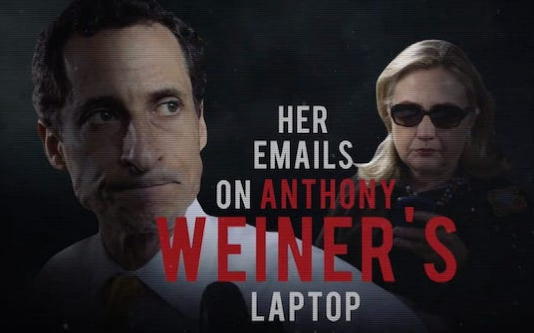 FBI Agent Who Found Hillary's Emails On Weiner Laptop Says He Was Told to Erase Computer