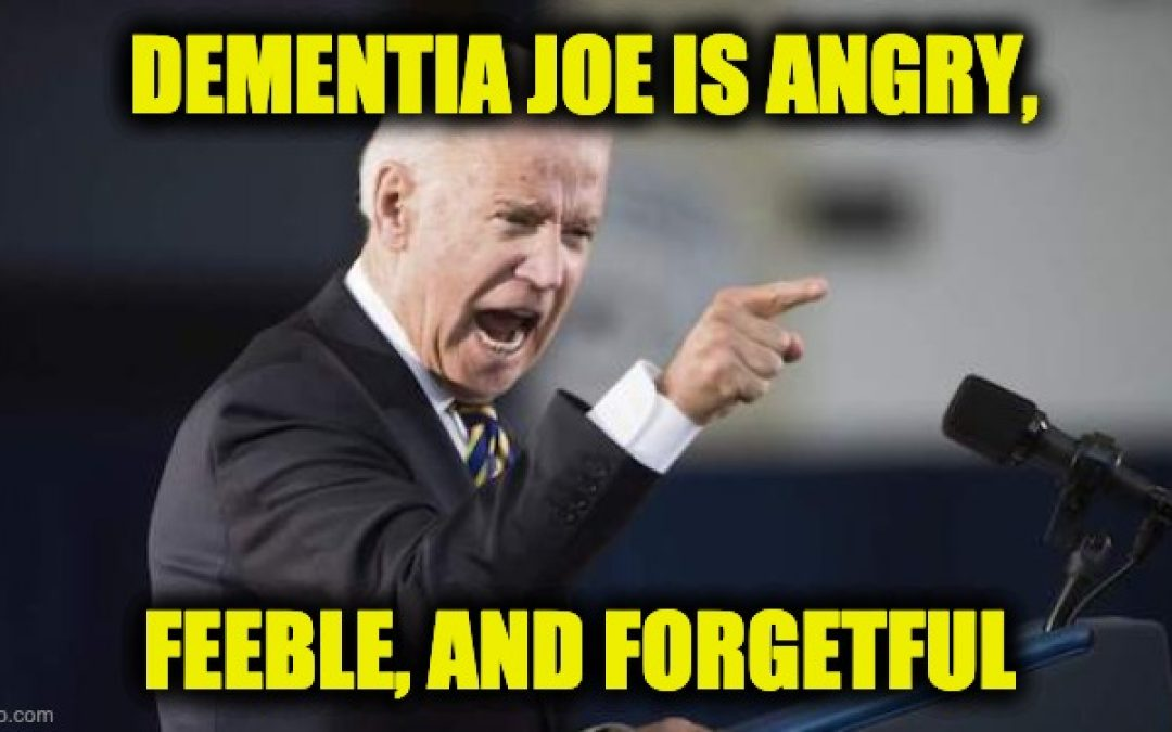 Dementia Joe Mutilates The Pledge of Allegiance