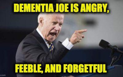 Dementia Joe Mutilates The Pledge of Allegiance