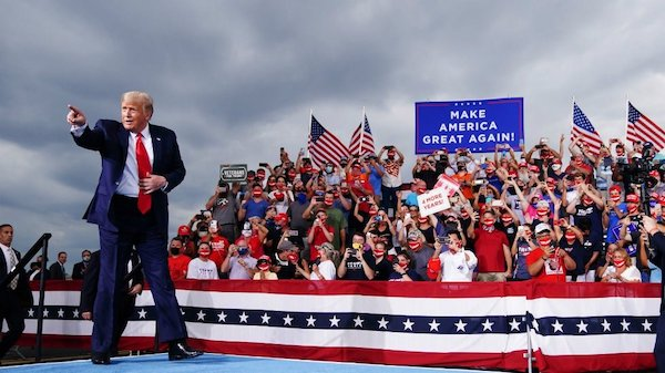 Mask-Shame Trump