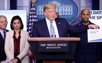 Trump didn't downplay COVID seriousness