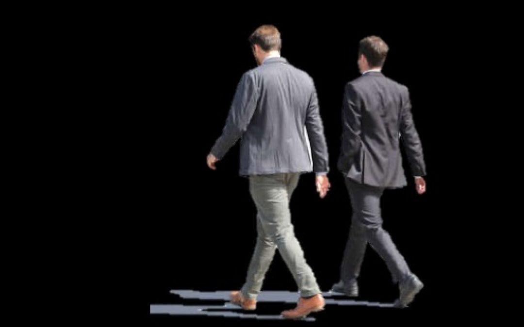 I Always Walk To Shul With My Father