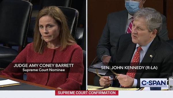 sen. Kennedy mocks democrats
