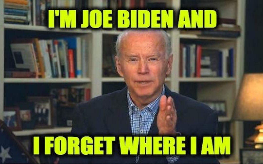Joe Biden's Dementia Particularly Evident On Monday