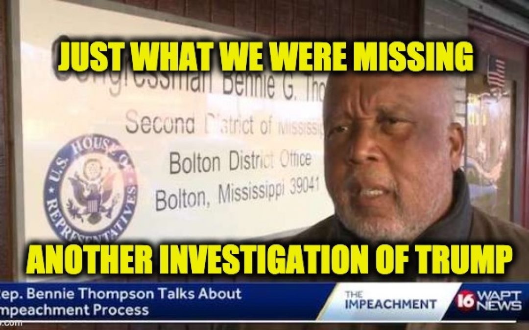 Rep Bennie Thompson (D-MS) To Investigate President's Thank You Lap At Walter Reed Sunday