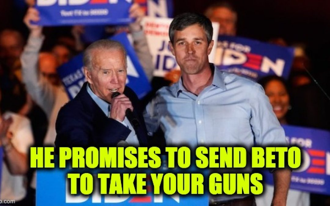Is Biden Coming For Your Guns? To Quote Beto, 'Hell Yes' — It's Right There On His Website
