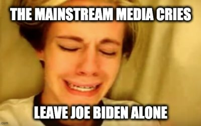 Liberal Media Confirms: Biden is The LEAST Scrutinized Candidate EVER