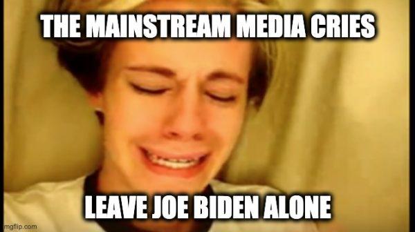 Biden is least scrutinized