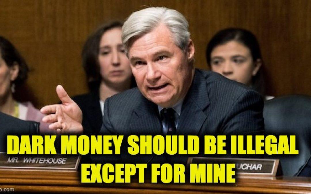 A Democrat's Dishonest Dark Money Diatribe
