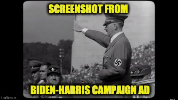 Biden-Harris Uses Hitler
