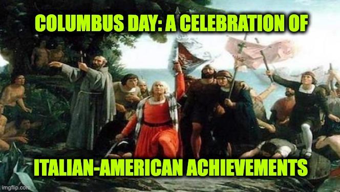 Columbus Day Italian Americans