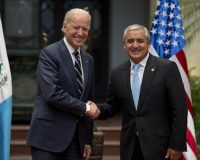 Joe Biden's Hand In Corruption, Subversion And Crime In Guatemala