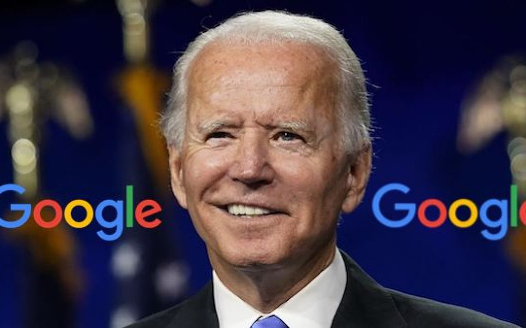 Sr Google Manager Confirms Search Engine's Election Interference In Favor Of Joe Biden