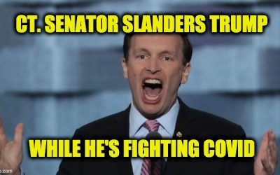 Sen. Chris Murphy Lies, Says Trump Will Use Putin as Campaign 'Surrogate' Due to COVID (Video)