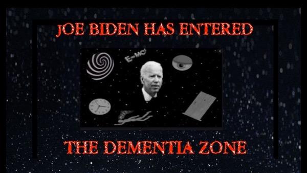 Joe Biden the dementia zone