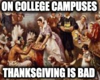 American Colleges Are Throwing Hate At Thanksgiving