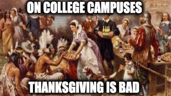 American colleges hate Thanksgiving