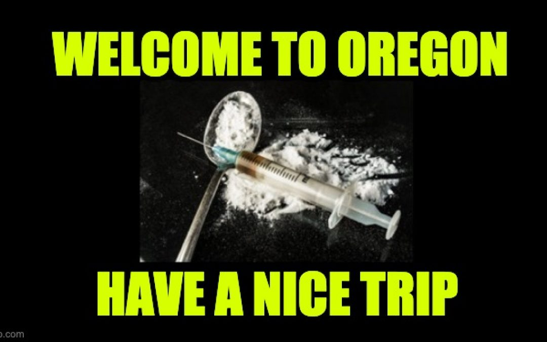 Oregon Voters Decriminalized Street Drugs Like Heroin, Meth, And Cocaine