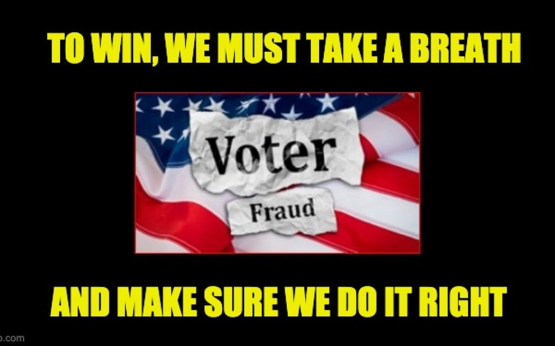 Fellow Fraud Fighters, Let's Take A Breath And Make Sure We Get It Right