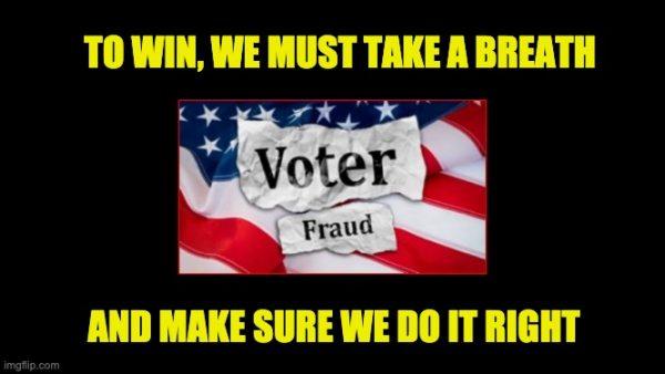 fighting voter fraud