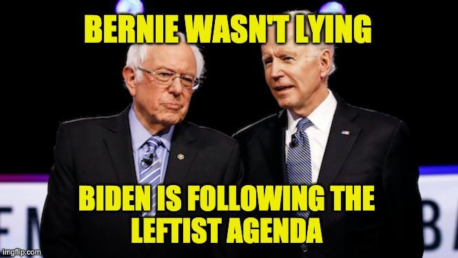 Biden progressive agenda
