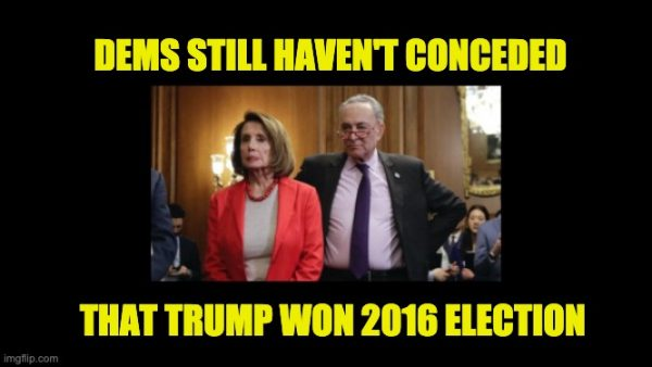 democrats never conceded 2016 election