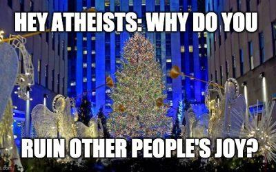 The 2020 Stupid, Politically Correct, Atheists Fighting Christmas Season Has Started