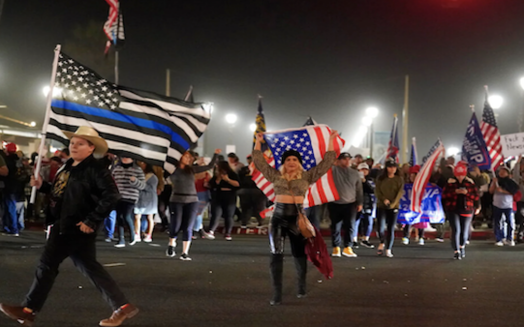 California Residents Take To The Streets, Protested COVID-19 Restrictions