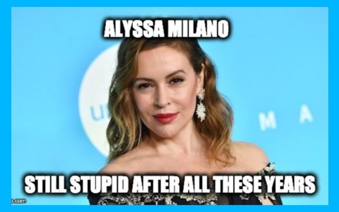 Alyssa Milano Tries To Make Peace With Trump Supporters She Crapped On-Deplorables Give Her Hell