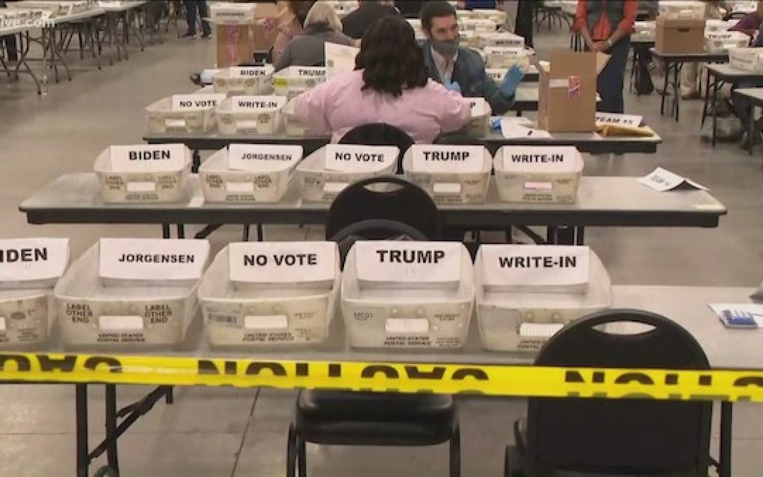 No Verification Of Voter Eligibility Signature So Georgia's Hand Recounts Will Be Incomplete