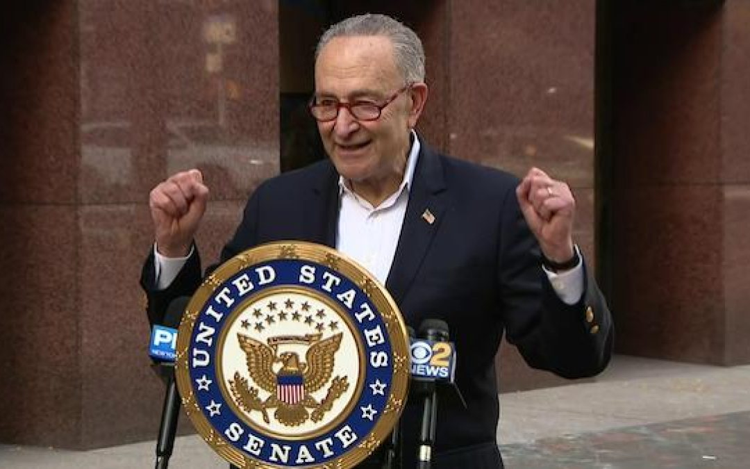 Chuck Schumer: Democrats Will 'Change America' If They Take Georgia Senate Seats