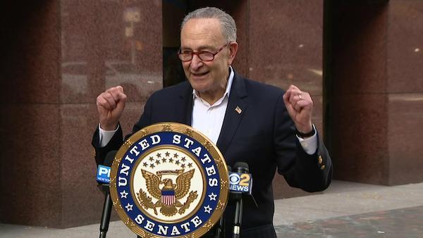 Schumer Democrats will change America
