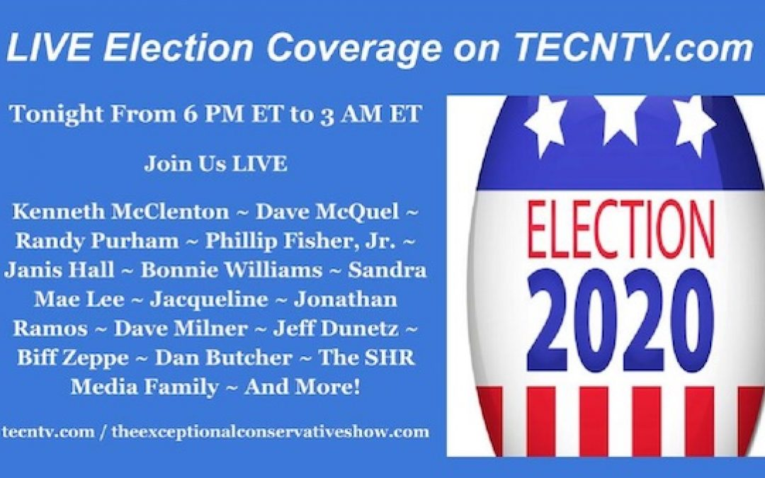 Don't Miss The BEST Election Coverage:  Tonight On TECNTV.COM (Featuring The Lid)