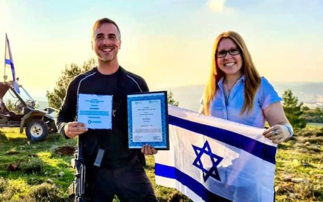 """Herut North America Honors Ben Goldstein With the 2nd Annual Ari Fuld Z""""L Zionist Activist of the Year Award"""