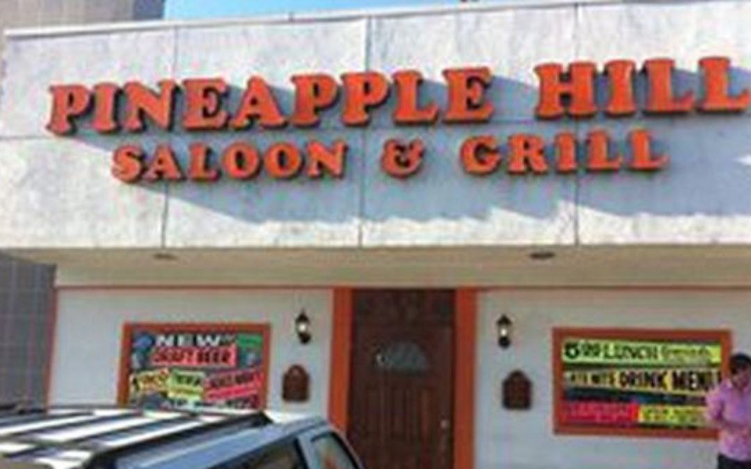 Pineapple Hill Saloon and Grill Outdoor Dining Ban – LA Hypocrisy