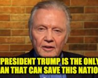 Oscar Winning Actor Jon Voight Warns of the 'Great Danger' of a Biden Presidency