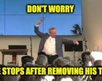 Pastor Rob McCoy Converts Church Into 'Strip Club' To Comply With Draconian Covid Laws