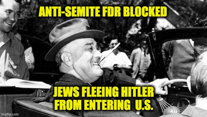 FDR'S abandonment of the Jews