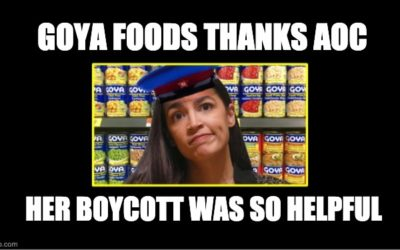 GOYA Foods Gave AOC An Award-But She's Not Going To Like It