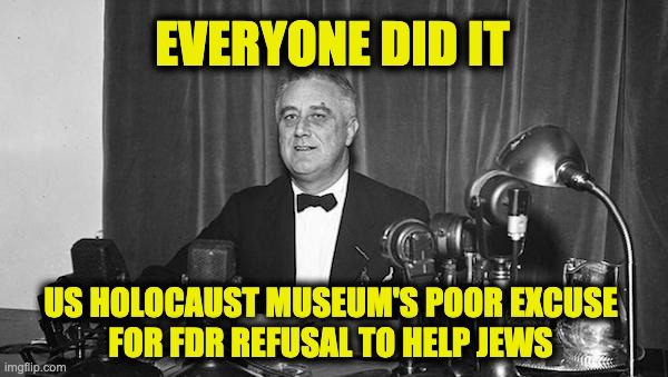 Holocaust Museum protects FDR