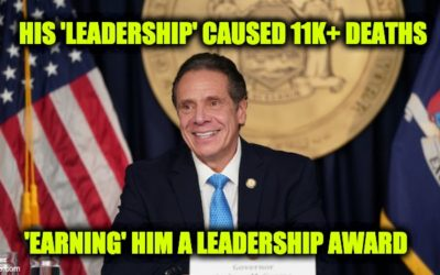 THIS IS NUTS! Andrew Cuomo Given Award For His Pandemic 'Leadership'
