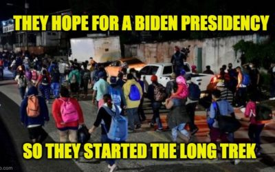 Hundreds Of Hondurans Have Formed A Migrant Caravan Heading To U.S. (Anticipating Biden)