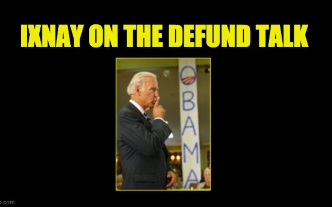 Biden in Leaked Audio: Keep Quiet About 'Defund the Police' Until After Georgia Runoffs