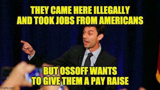 Jon Ossoff illegals
