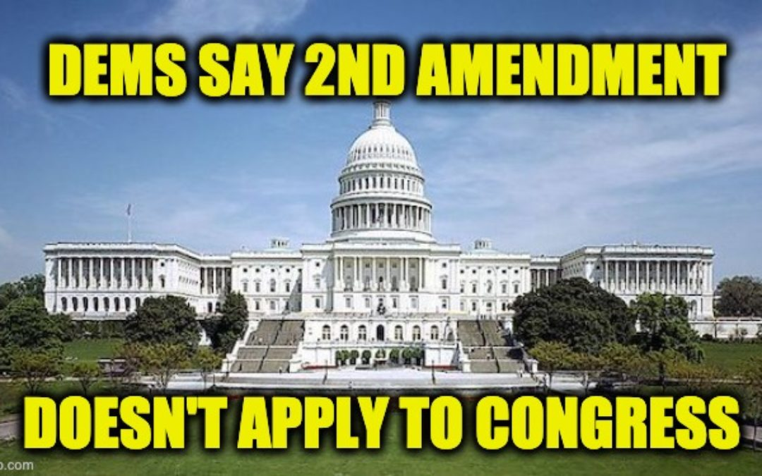 Liberal Dems Want Colleagues Disarmed On Capitol Hill