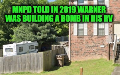 Nashville Bomber's Girlfriend Warned Cops He Was Building Bomb In RV (Includes Full Police Report)