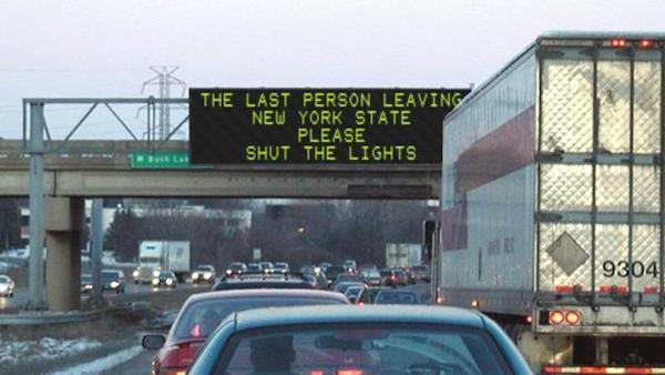 NY population drain