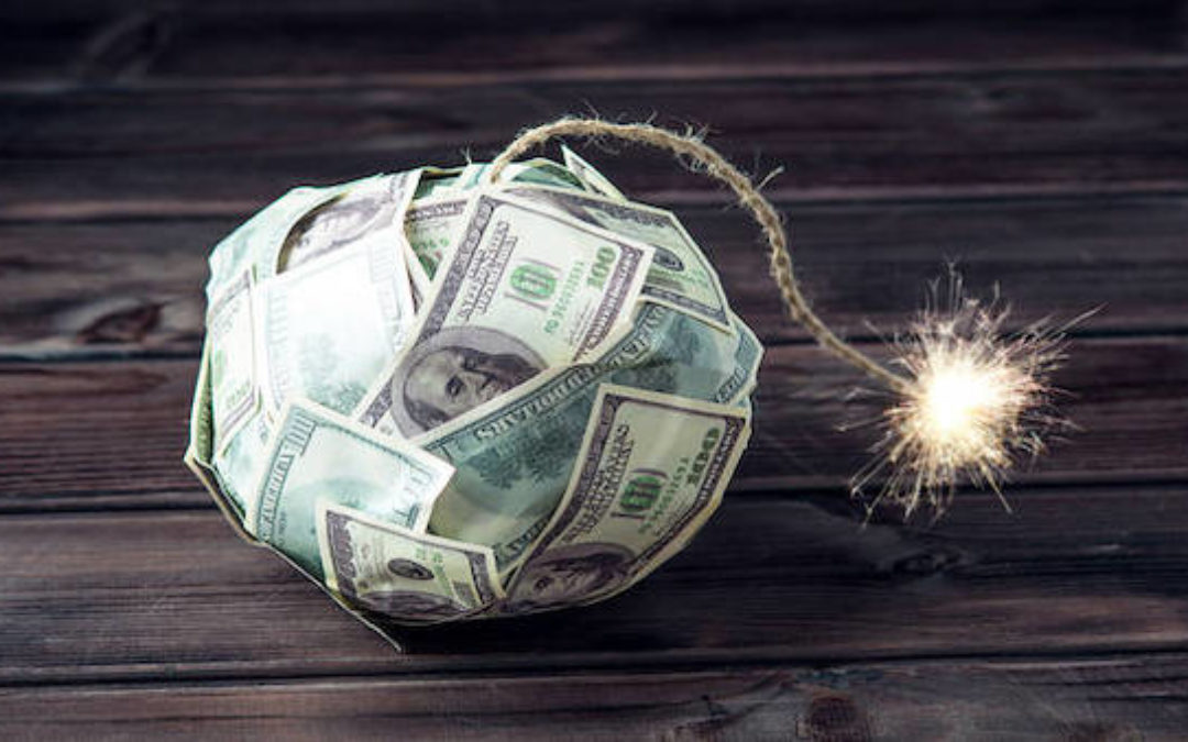 How Much Debt Is Too Much?  When Will The Debt Bomb Explode?