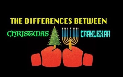 The Differences Between Christmas And Hanukkah (With Tongue Firmly In Cheek)