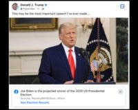 "Facebook And Twitter Add Anti-Trump Labels To Trump's ""Most Important Speech"" Ever"
